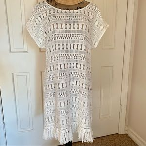 Stella & Dot Cream Cover Up L/XL